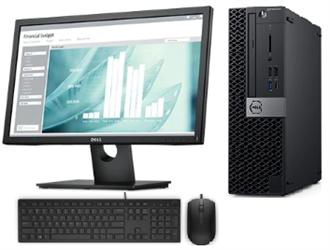 """Picture of Dell OptiPlex 5070 SFF 22"""" No office"""